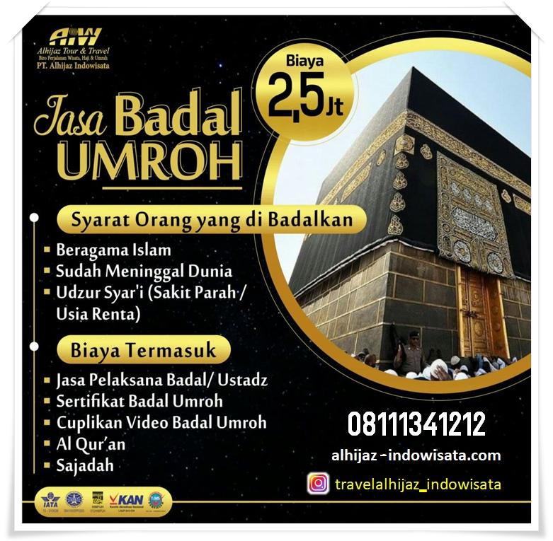 BADAL UMROH