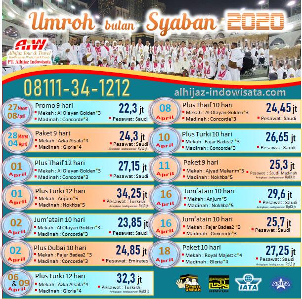 UMROH BULAN SYABAN 2020