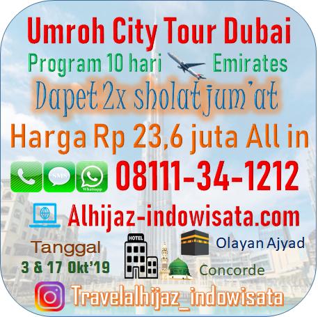 UMROH PLUS DUBAI 10 HARI