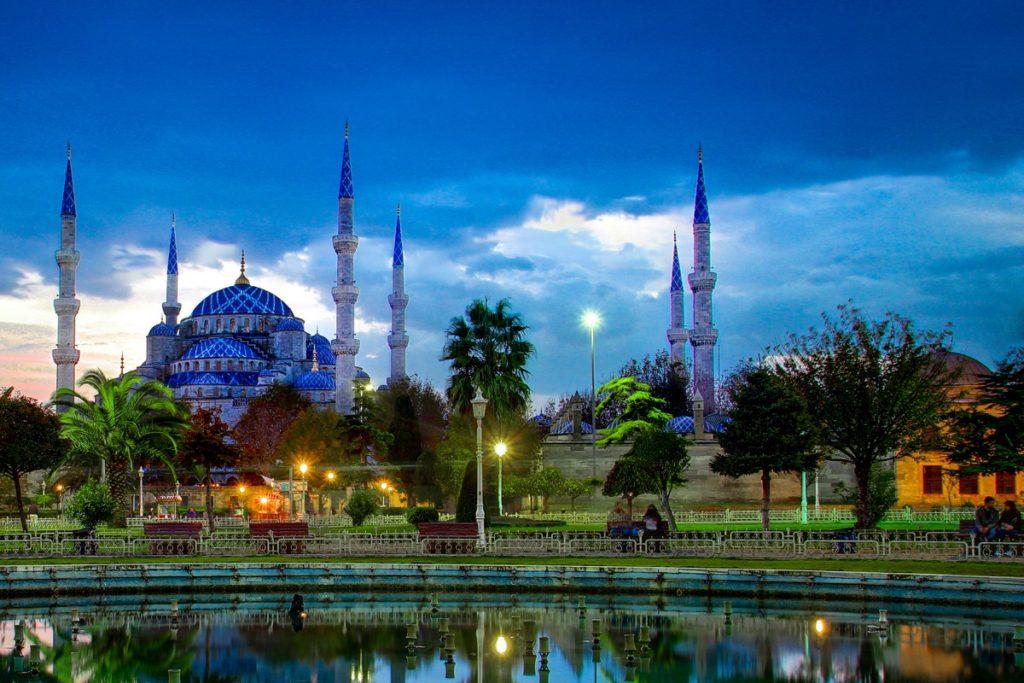 Tempat Wisata Turki Blue Mosque (Masjid Biru)