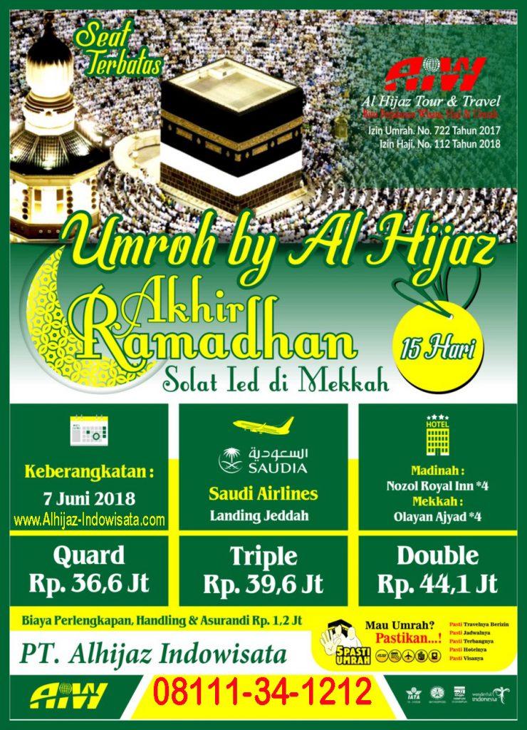umroh akhir ramadhan 2018