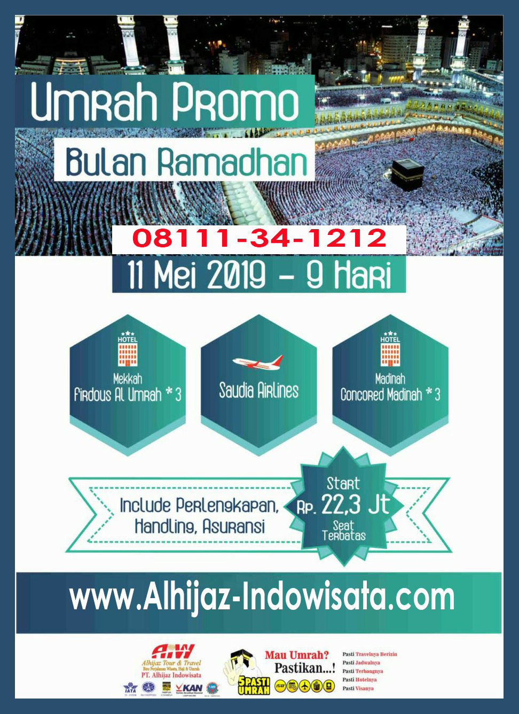 umroh ramadhan 11 mei 2019