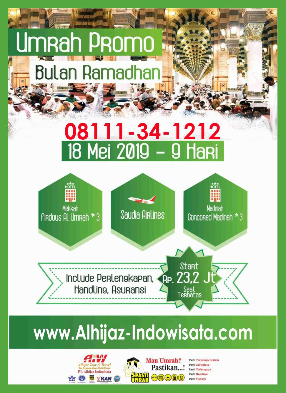 umroh ramadhan 18 mei 2019