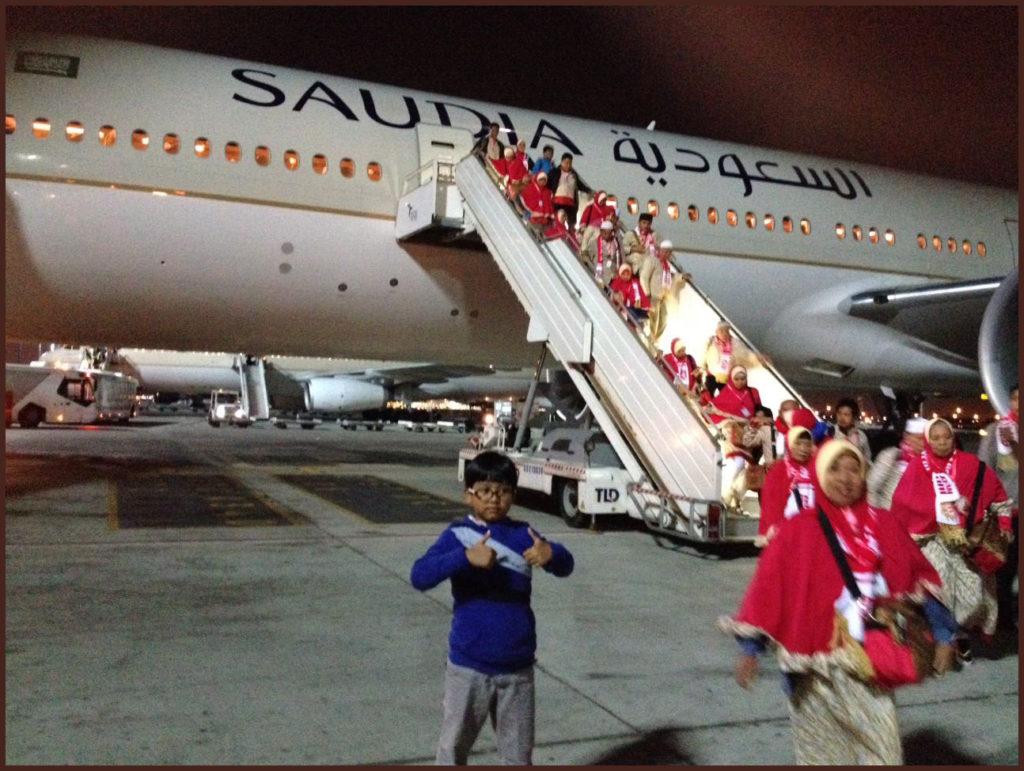 Penggunaan Fasilitas Pesawat Calon Jamaah Haji Perlu Diajari