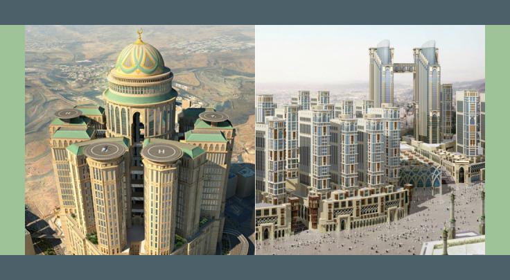 Proyek Pembangunan Hotel Baru Jabal Omar di Makkah