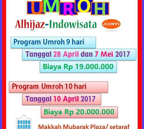 Alhijaz Indowisata Tours & Travel Keluarkan Paket Umroh Murah