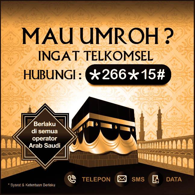 Paket Umroh Telkomsel perluas layanan di Tanah Suci
