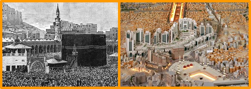 Perkembangan Pembangunan Masjidil Haram Dari Masa ke Masa