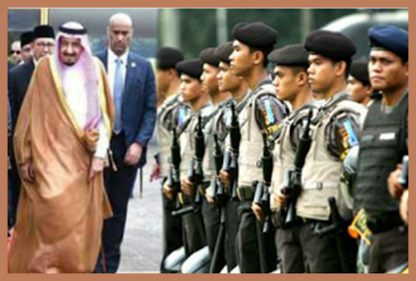 Raja Salman Memberikan Haji dan Umrah Gratis untuk Polri