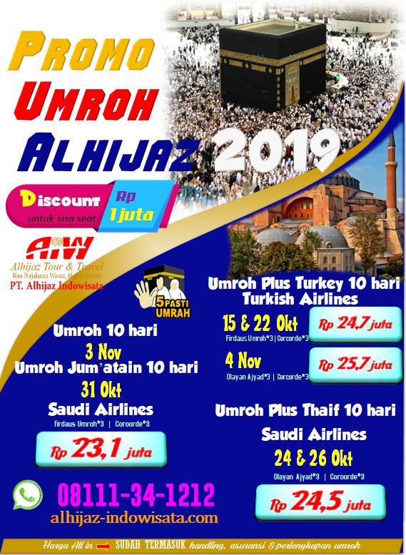 PROMO UMROH MURAH 2019