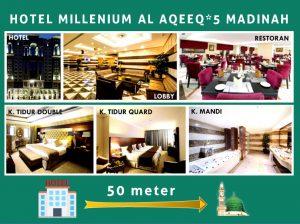 HOTEL-MILLENIUM-AL-AQEEQ-BINTANG-LIMA-MADINAH