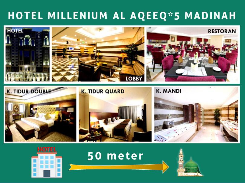 HOTEL MILLENIUM AL AQEEQ BINTANG LIMA MADINAH