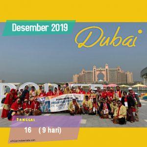 PAKET UMROH PLUS DUBAI DESEMBER 2019
