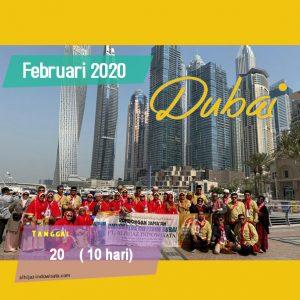 PAKET UMROH PLUS DUBAI FEBRUARI 2020