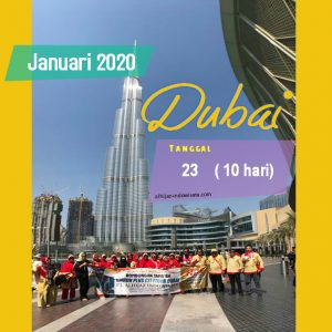 PAKET UMROH PLUS DUBAI JANUARI 2020