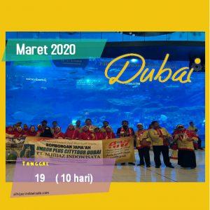 PAKET UMROH PLUS DUBAI MARET 2020
