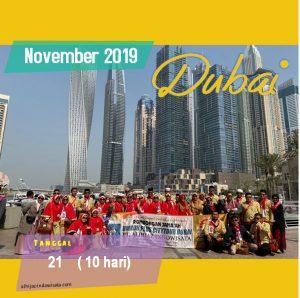 PAKET UMROH PLUS DUBAI NOVEMBER 2019