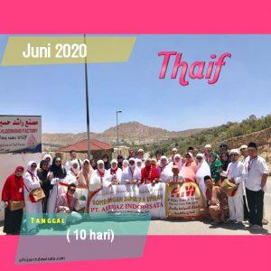 PAKET UMROH PLUS THAIF JUNI 2020