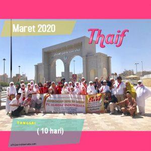 PAKET UMROH PLUS THAIF MARET 2020