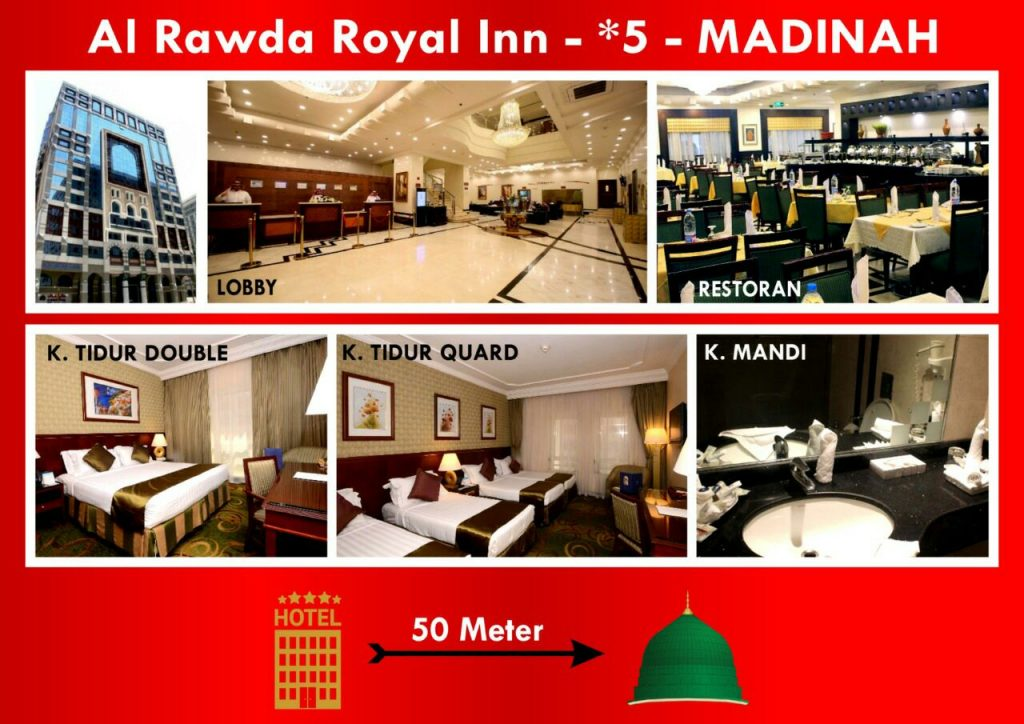HOTEL RAWDA ROYAL INN MADINAH