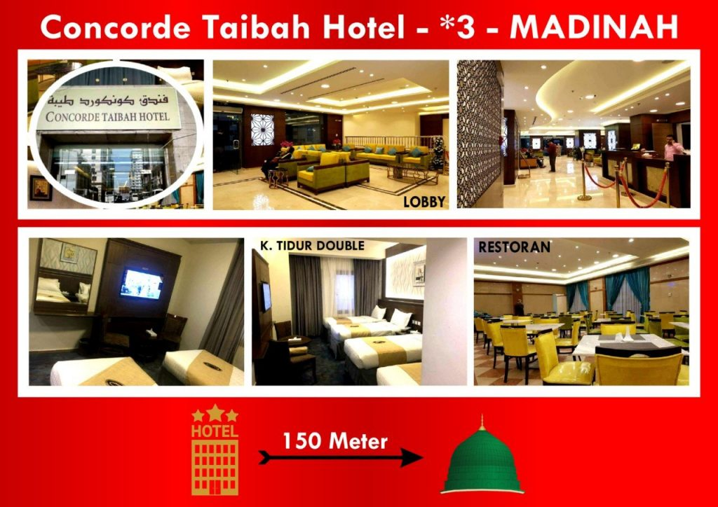 HOTEL CONCORDE TAIBAH MADINAH