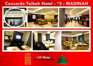 hotel concore thaibah madinah