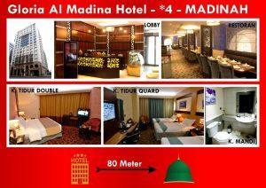 hotel gloria al madinah