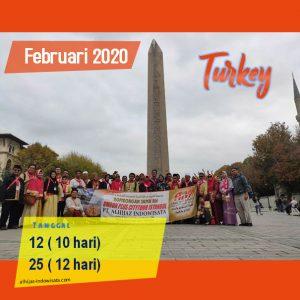 paket umroh plus turki februari 2020