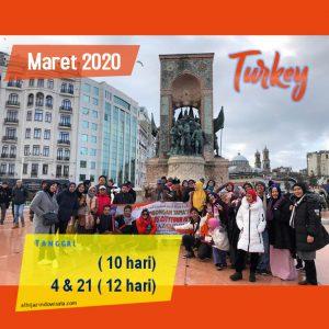 paket umroh plus turki maret 2020