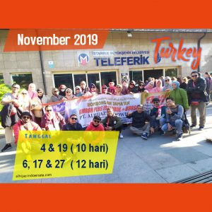paket umroh plus turki november 2019