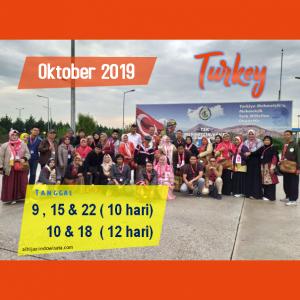 paket umroh plus turki oktober 2019