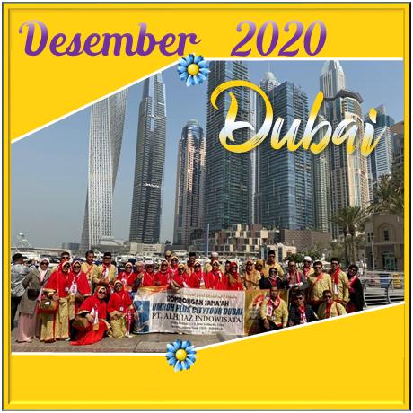 UMROH DUBAI DESEMBER 2020