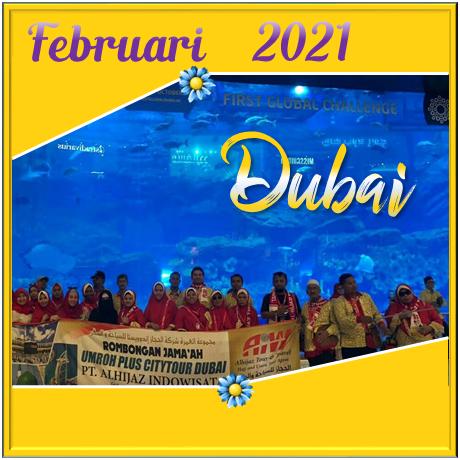 UMROH DUBAI FEBRUARI 2021