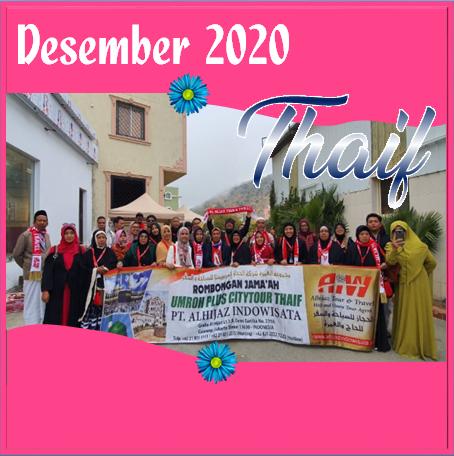 UMROH THAIF DESEMBER 2020