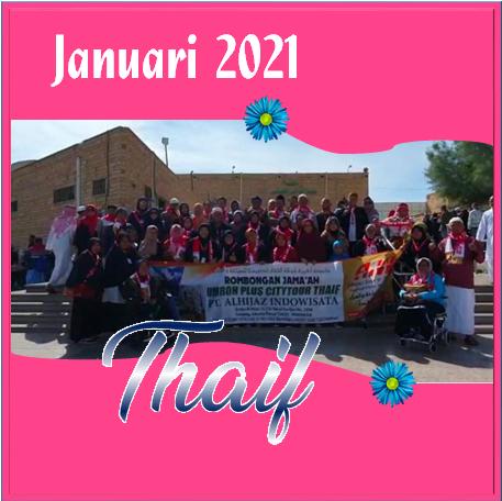 UMROH THAIF JANUARI 2021