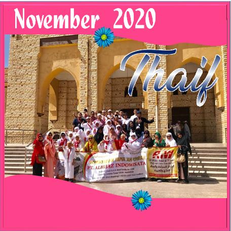 UMROH THAIF NOVEMBER 2020