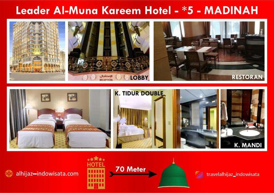 Hotel Leader Al Muna Kareem Madinah